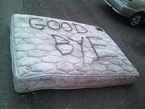 Break up with your old mattress