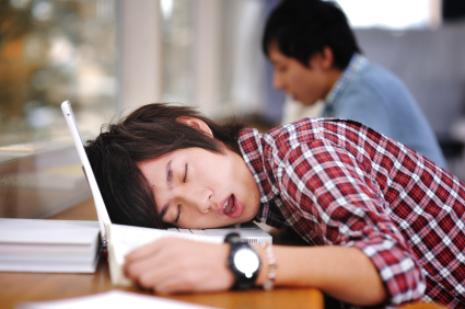 Image result for sleeping student