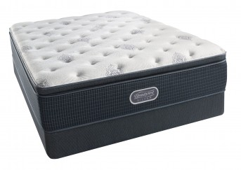 Simmons Beautyrest Silver Open Seas Plush Pillow Top Mattress