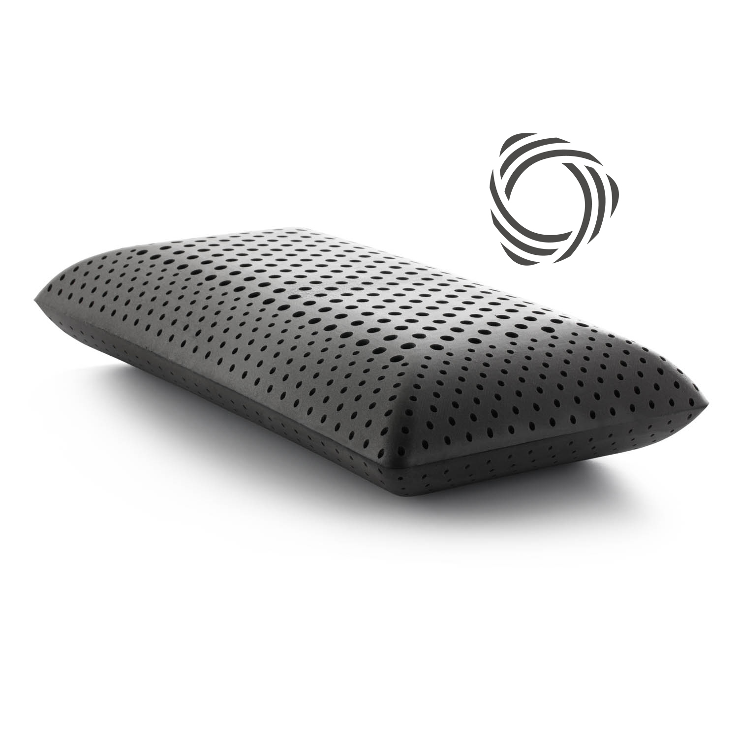 Malouf Z Zoned ActiveDough + Bamboo Charcoal Pillow