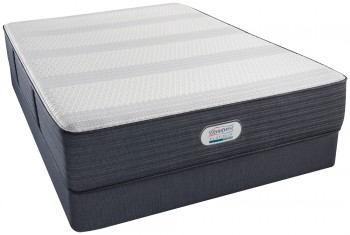 Simmons Beautyrest Platinum Hybrid Crestridge Plush Mattress