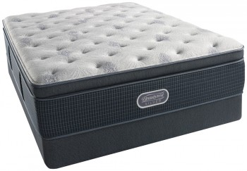 Simmons Beautyrest Silver Charcoal Bay Luxury Firm Pillowtop