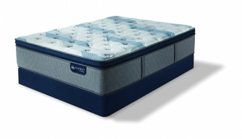 Serta iComfort Hybrid Blue Fusion 300 Plush Pillowtop Mattress