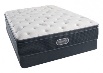 Simmons Beautyrest Silver Open Seas Plush Eurotop Mattress