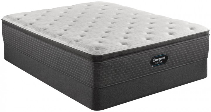Simmons Beautyrest Silver BRS900 Plush Pillowtop Mattress